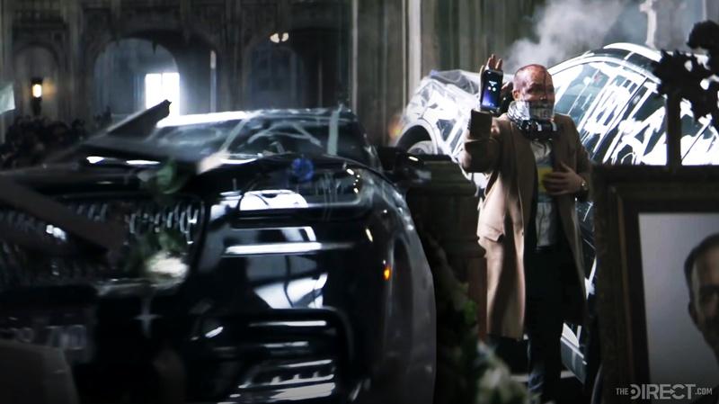 The Batman trailer car crash