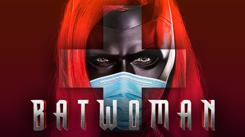 Batwoman with Mask