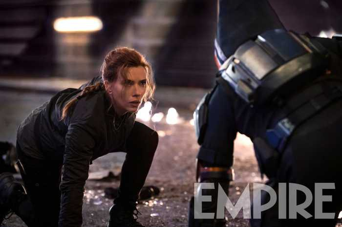 Natasha Romanoff and Taskmaster from Black Widow