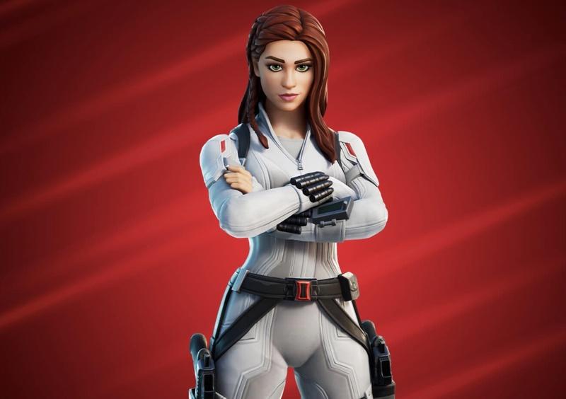 Epic Games Fortnite Black Widow skin