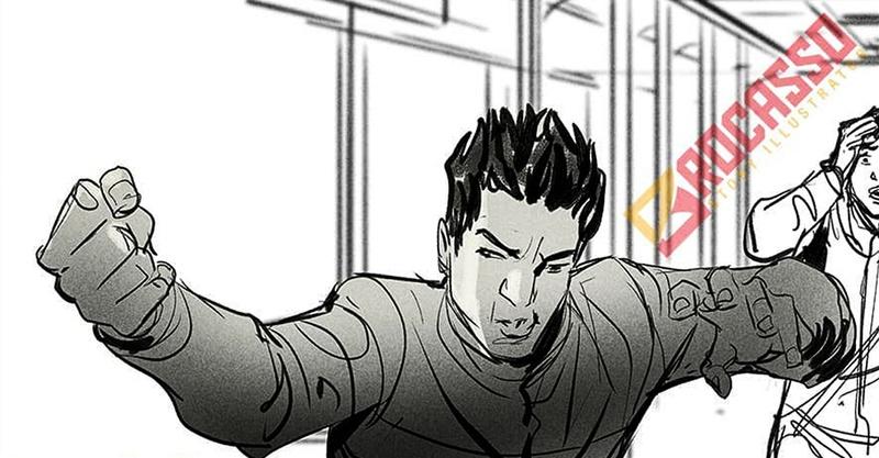 Shang-Chi storyboard