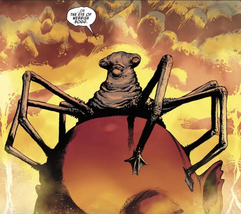 The Eye of Webbish Bog from Darth Vader #7