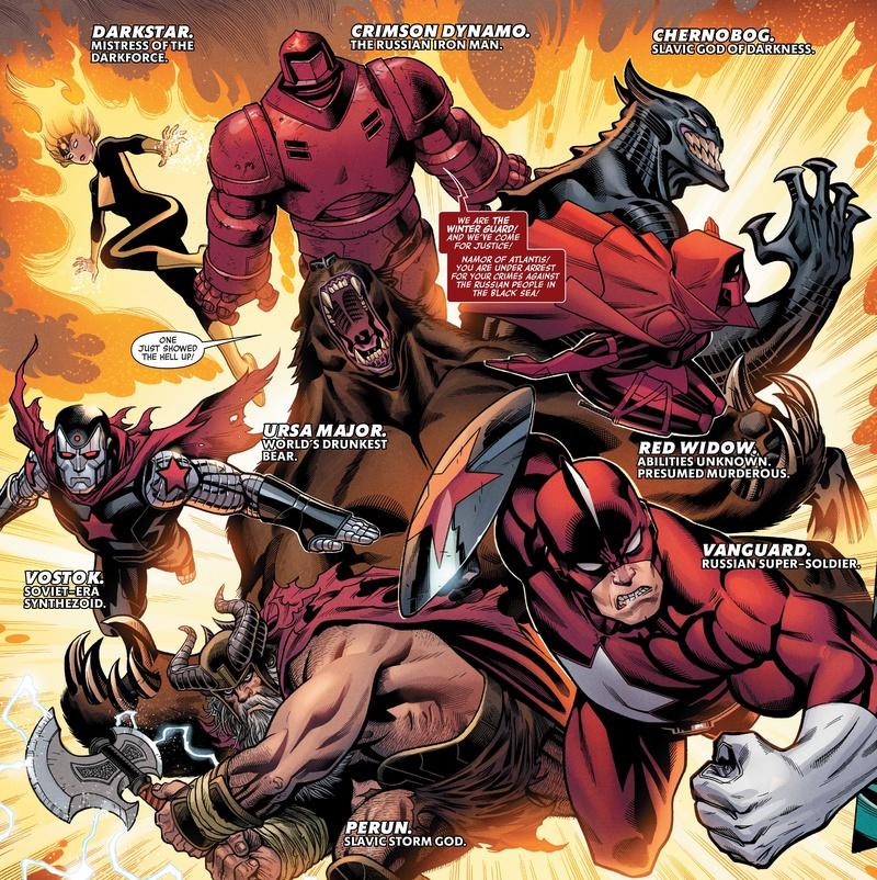 Winter Guard Marvel Comics