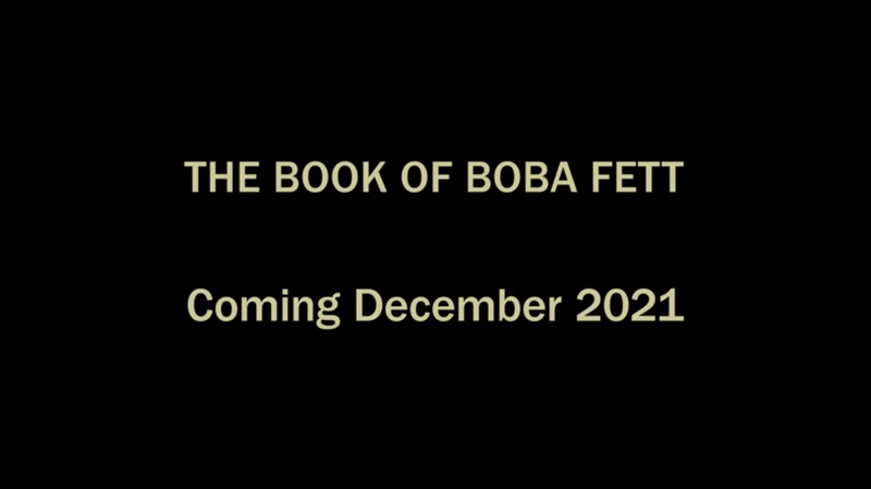 Book of Boba Release Date