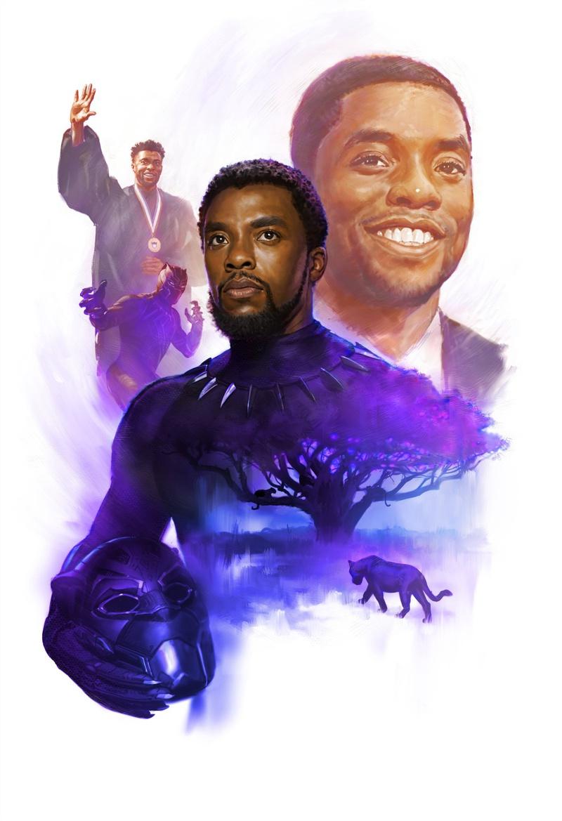 Homenagem a Chadwick Boseman