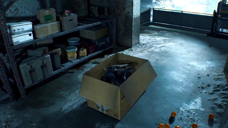 Death Stranding Norman Reedus Box