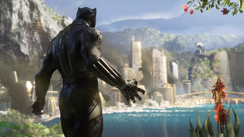 Black Panther Marvel's Avengers Expansion