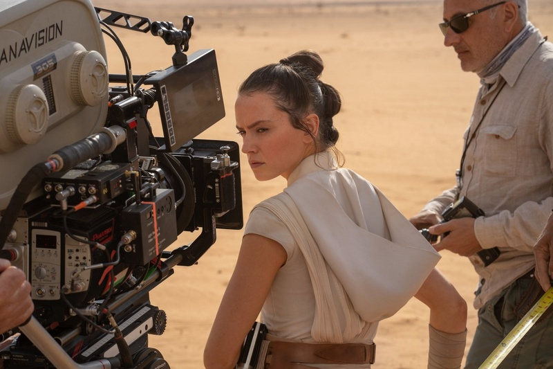 Daisy Ridey on location in Jordan to film the Pasaana sequences