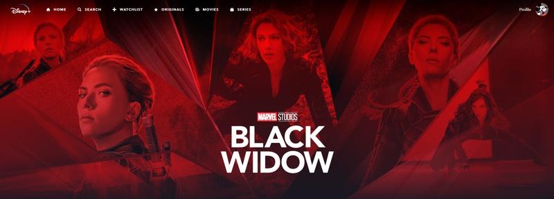 Black Widow Disney+ Collection