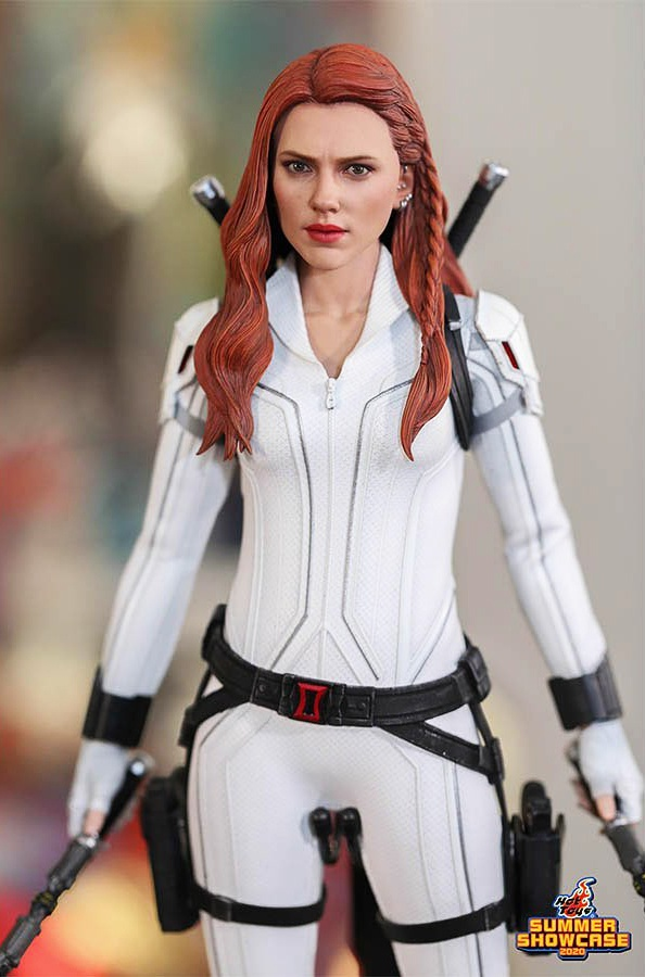 Black Widow in Snow Suit 1/6th scale figure