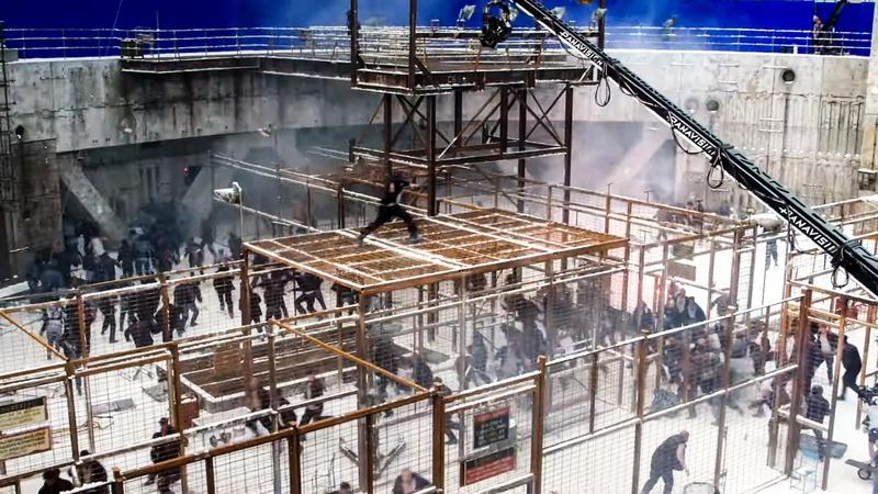 Black Widow Prison Scene
