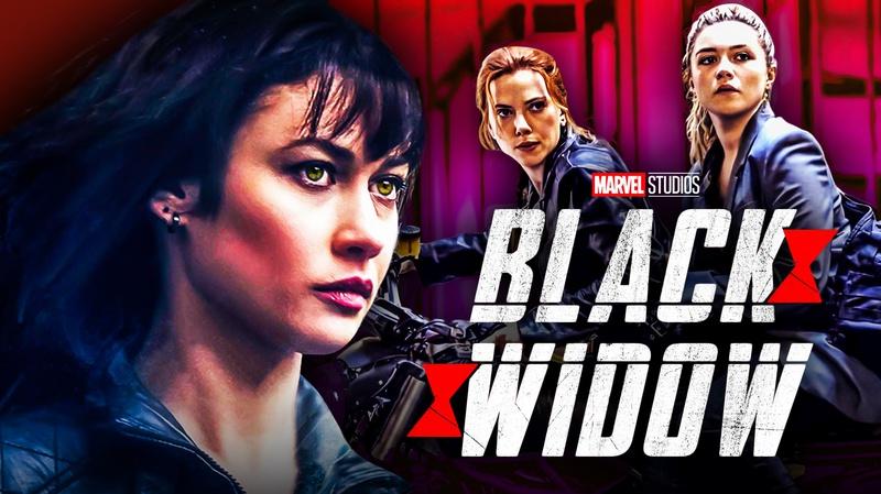 Olga Kurylenko Black Widow