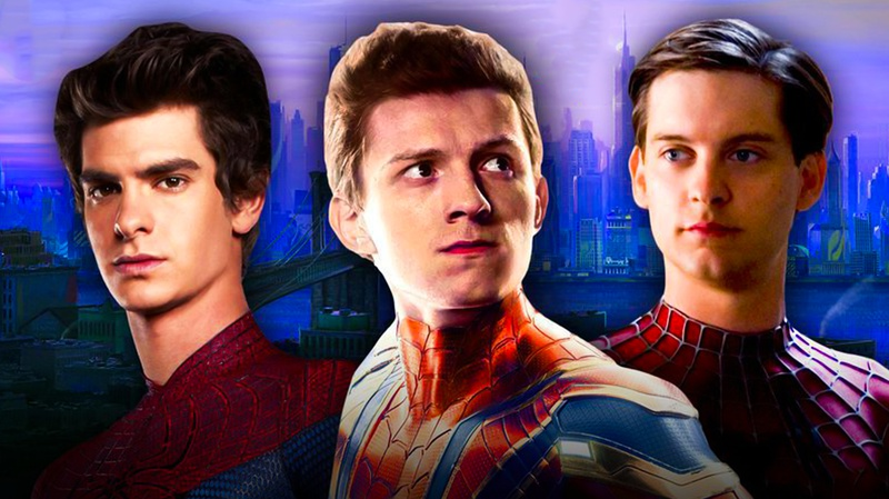 Andrew Garfield, Tom Holland, Tobey Maguire