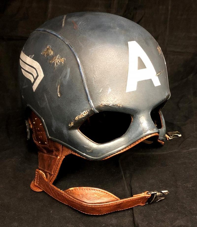 Chris Evans' Captain America Helmet Prop