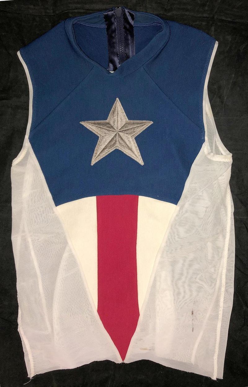 Captain America Shirt Movie Prop