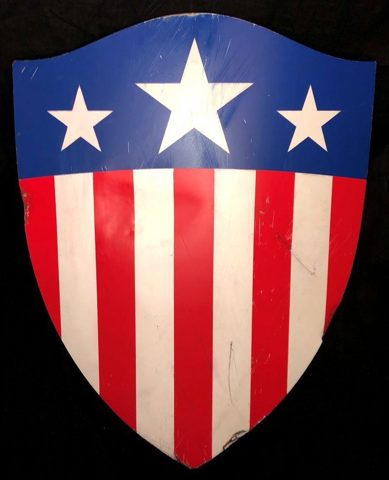 Captain America's screen-matched USO Heater Shield