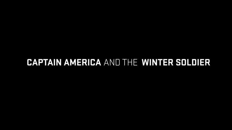 Captain America The First Avenger Title Card