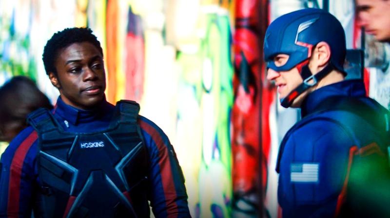 Battlestar and Captain America