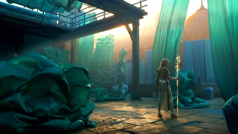 Thena's room in Eternals trailer
