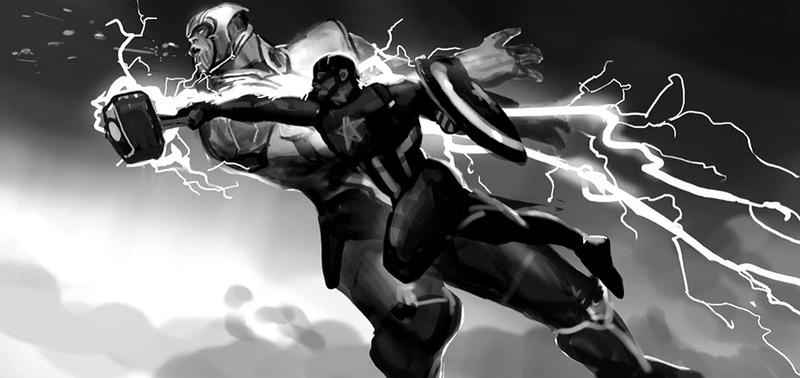 Captain America Keyframe from Ryan Meinerding