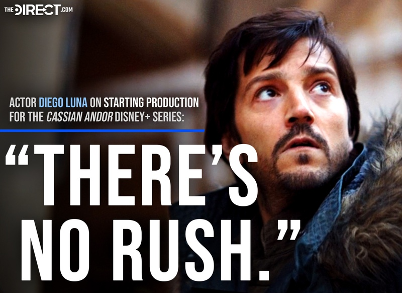 Diego Luna's Cassian Andor quote