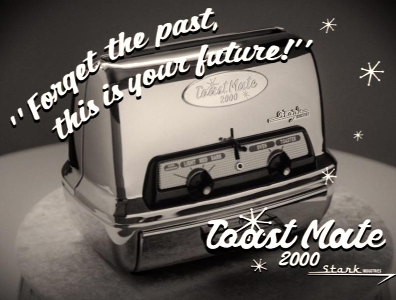 WandaVision Toaster Commercial
