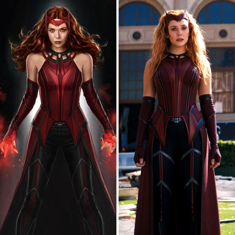 Scarlet Witch concept art