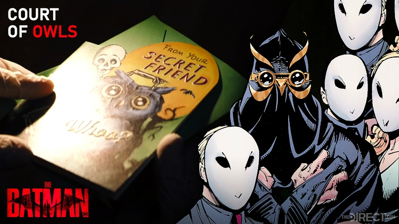 Court of Owls in The Batman trailer