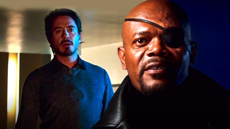 Tony Stark, Nick Fury