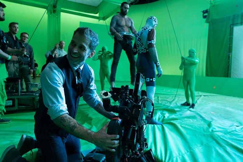 Zack Snyder's Justice League Jason Momoa