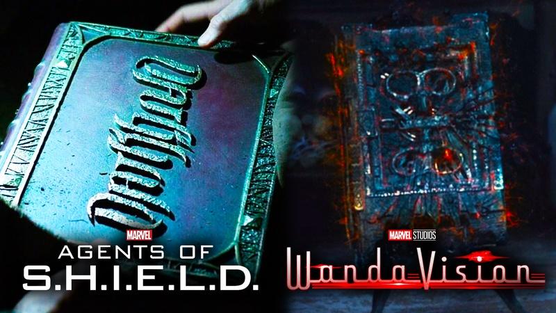 Darkhold WandaVision Agents of SHIELD