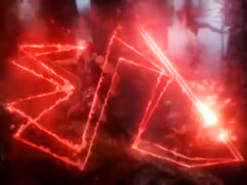 Darkseid Omega Beams Justice League