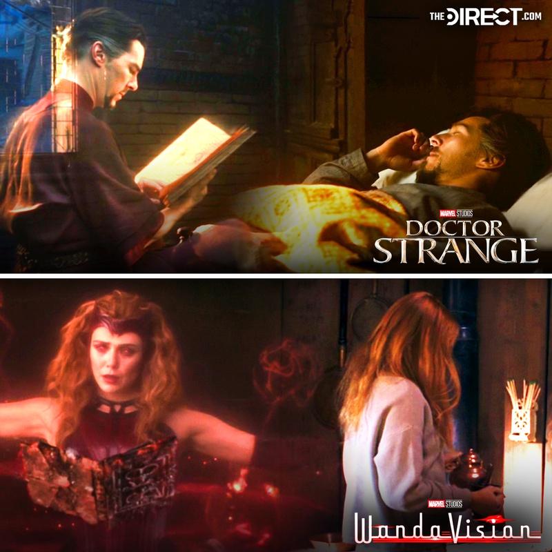 Doctor Strange, Wanda Maximoff