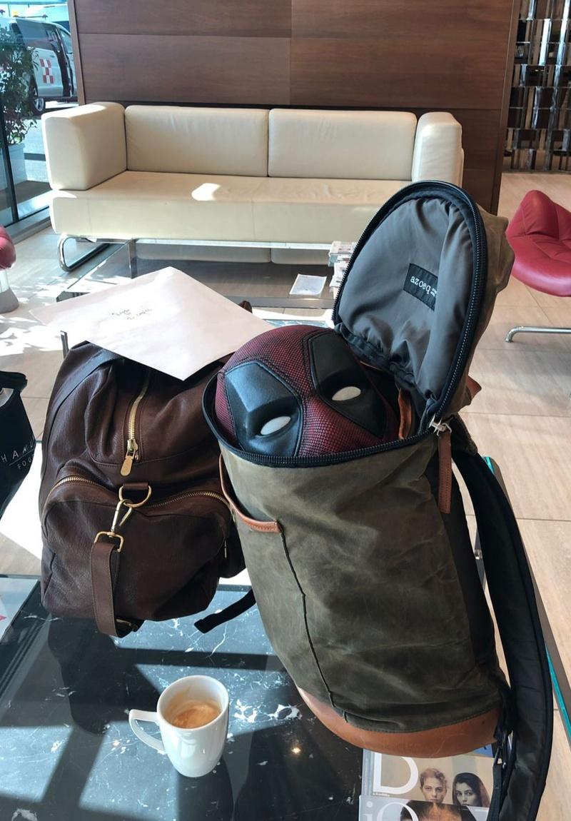 Deadpool Mask In Bag