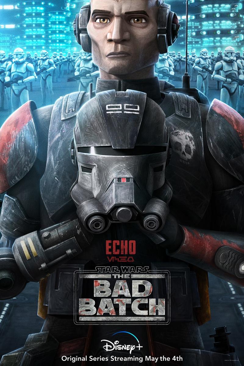 Echo Star Wars Bad Batch Echo
