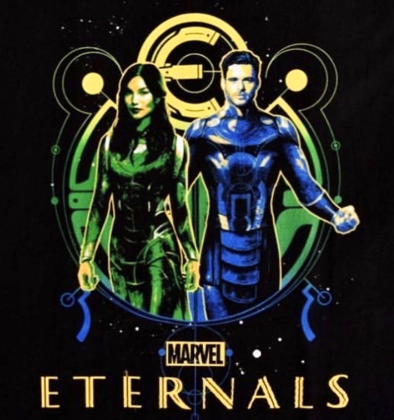 Eternals Merch Sersi Ikaris