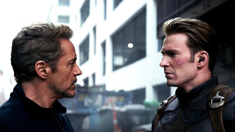 Tony Stark Steve Rogers Avengers Endgame