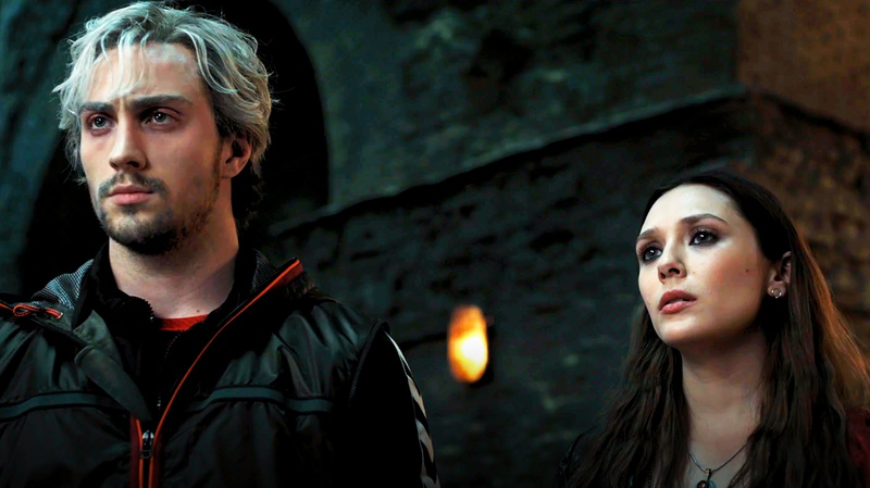 Quicksilver and Scarlet Witch in Avengers Ultron