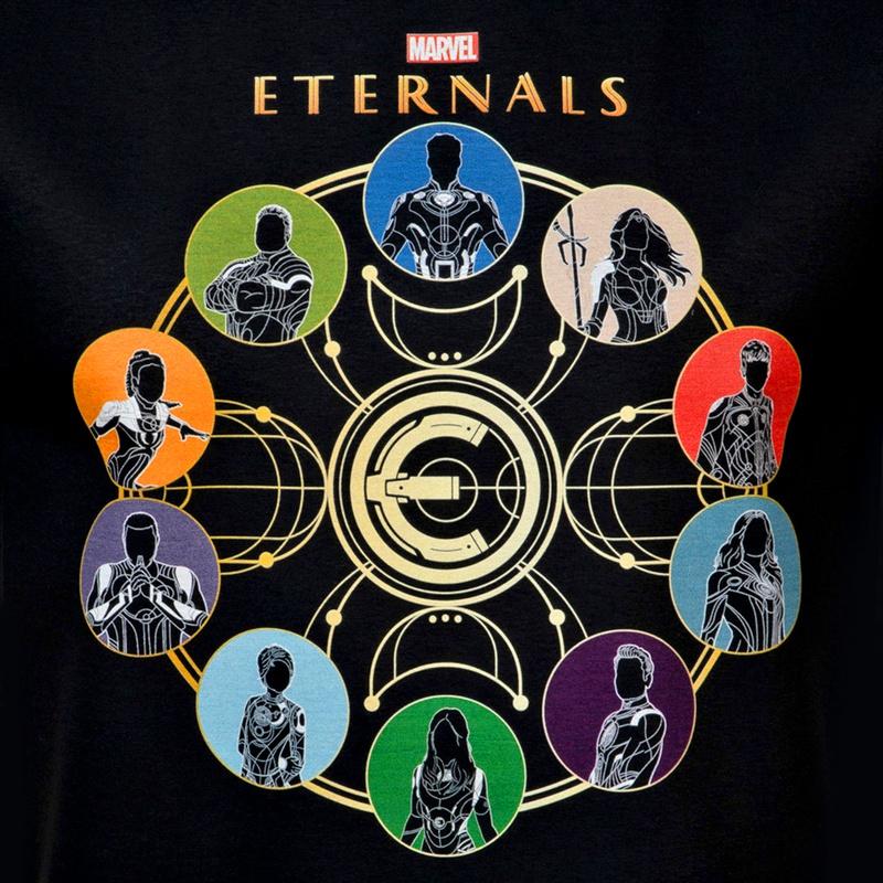 Eternals t-shirt design