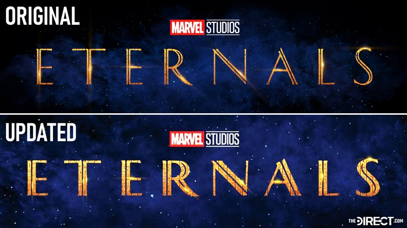 Marvel's Eternals Logo Comparison
