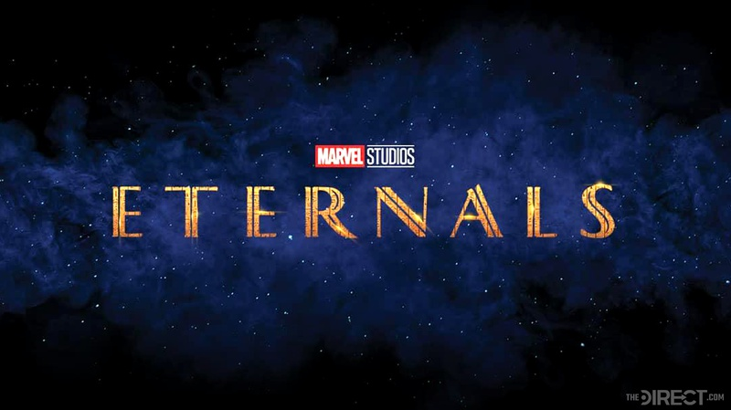 Marvel's Eternals New Logo