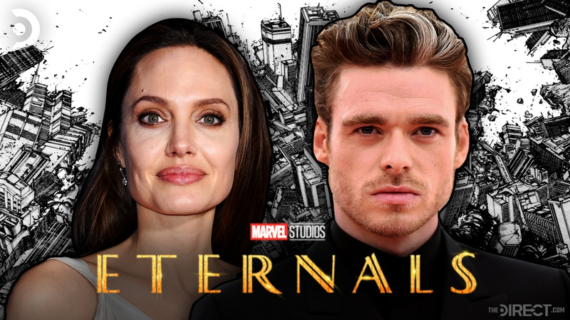 Angelina Jolie and Richard Madden