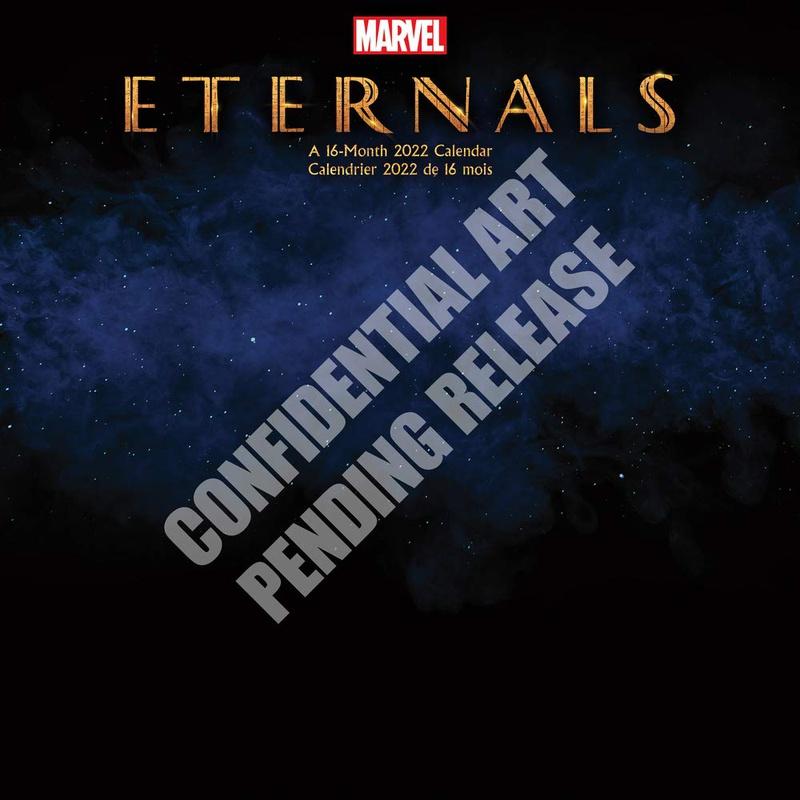Eternals calendar cover
