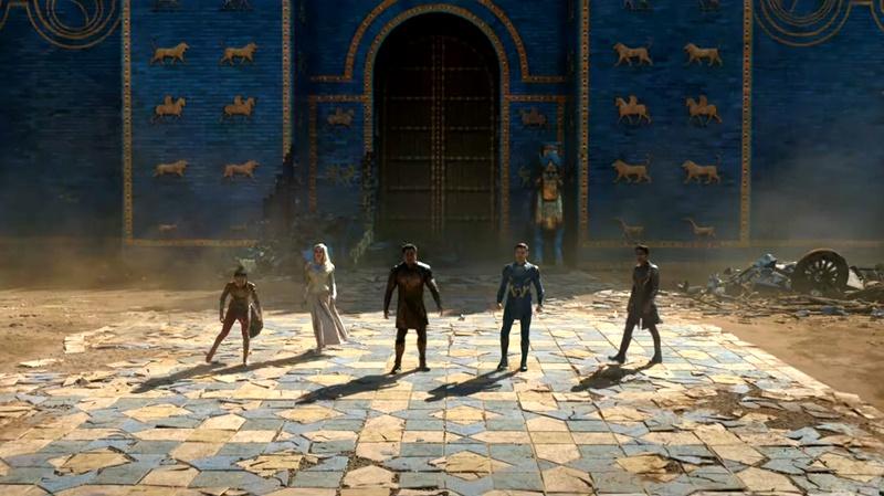 Marvel's Eternals, Thena, Ikaris, Kingo