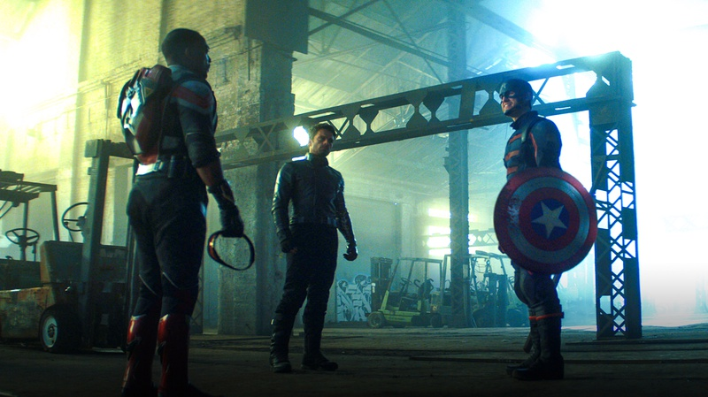 Sam Wilson, Bucky Barnes, Captain America