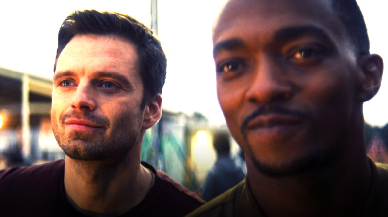 Sam Wilson and Bucky Barnes