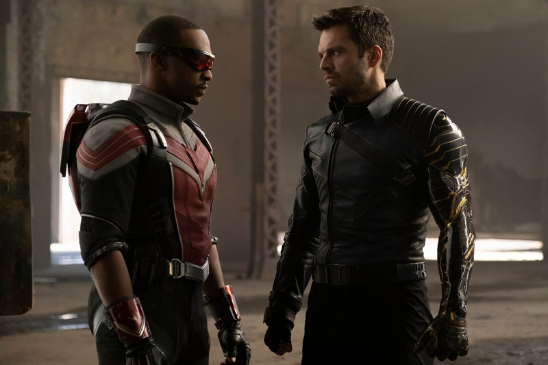 The Falcon and the Winter Soldier Sam Wilson Bucky