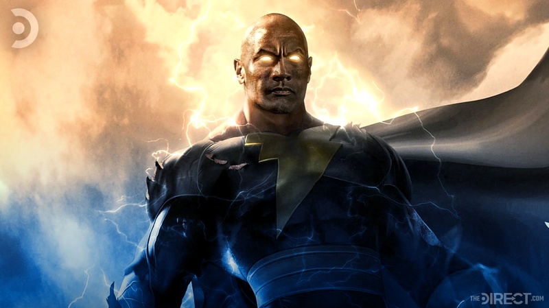 Dwayne Johnson as Black Adam