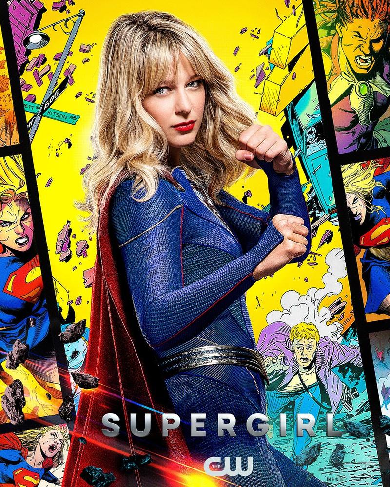 Supergirl DC FanDome poster