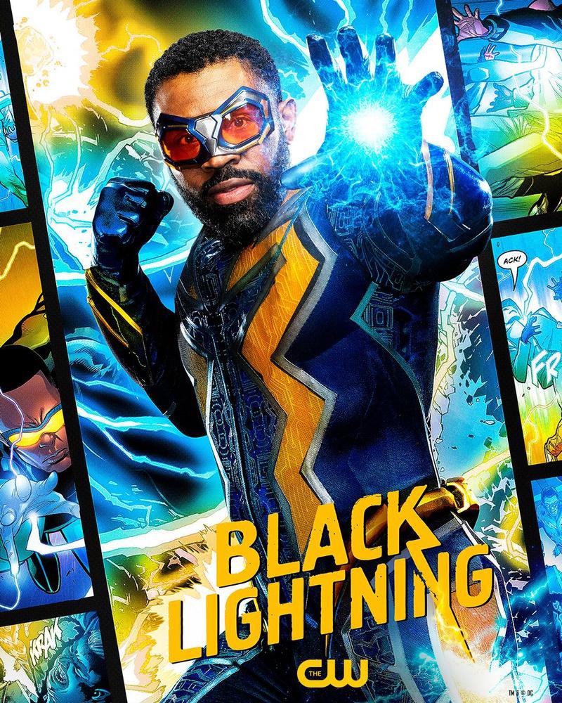 Black Lightning DC FanDome poster